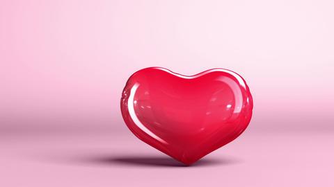 Balloon Herat is pumped Animation
