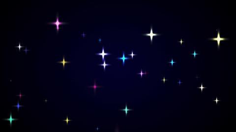 loopable shining star HD CG動画