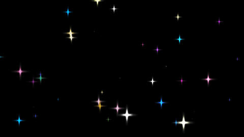 loopable shining star alpha HD CG動画