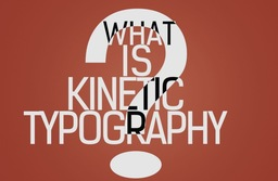 Kinetic Typography With Timeline stock footage