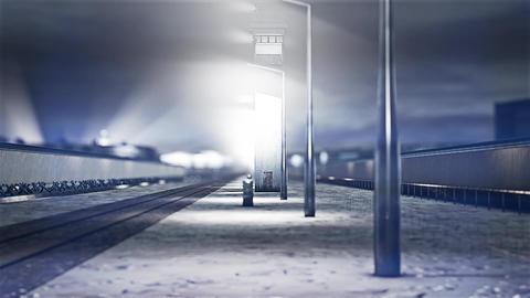 4K Berlin Wall 7 DOF h 264 Animation