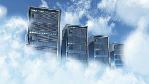 4K Cloud Server 1 Animation