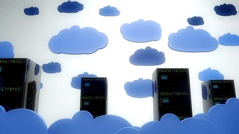 4 K Cloud Servers 9 Animation