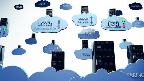 4 K Cloud Servers 19 Animation