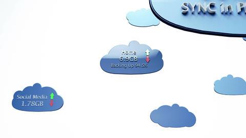 4K Cloud Servers 27 Animation