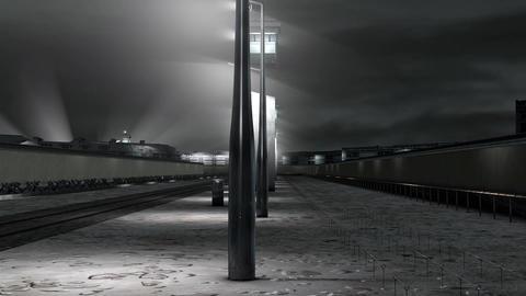 Berlin Wall 4 h 264 Animation