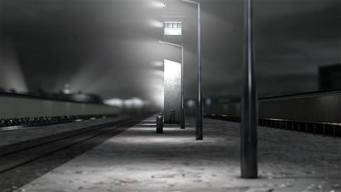 Berlin Wall 6 DOF h 264 Animation