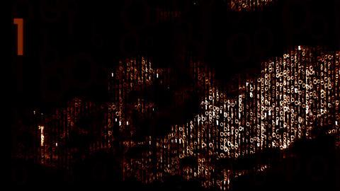Binary Fast Processing Digital Concept 1 Animation