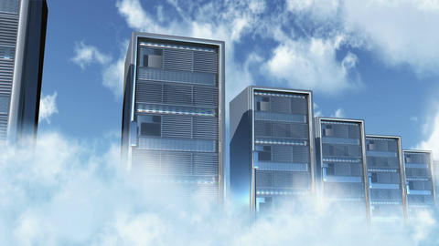 Cloud Servers 3 Animation