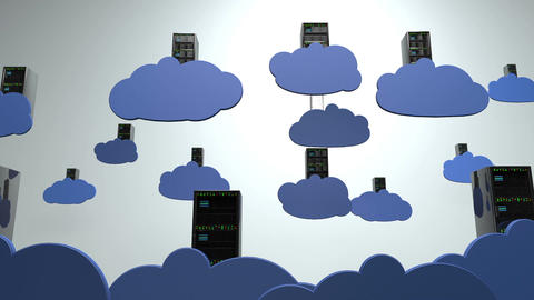 Cloud Servers 5 Animation