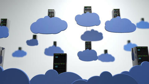 Cloud Servers 10 DOF h 264, Stock Animation