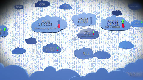 Cloud Servers 12 Animation