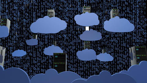 Cloud Servers 17 Animation