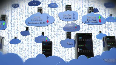 Cloud Servers 20 Animation