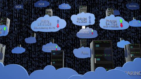 Cloud Servers 21 Animation