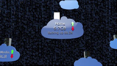 Cloud Servers 25 Animation