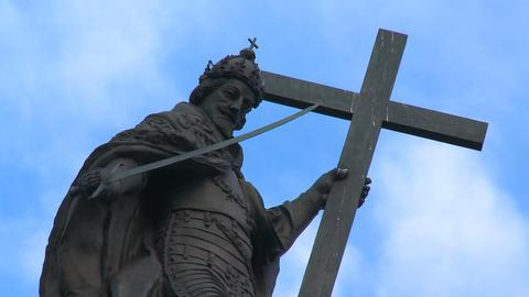 Kolumna Zygmunta/Sigismund's Column - Warsaw symbo Footage