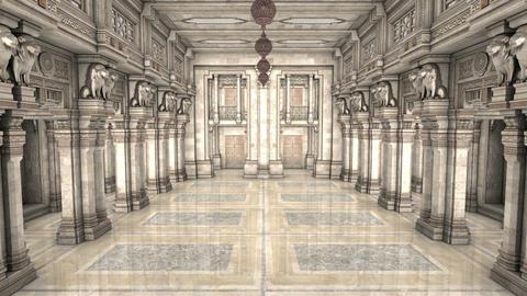 宮殿 CG動画