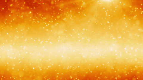 Floating Golden Particles stock footage