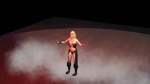 Belly Dance in the Red Room Animation