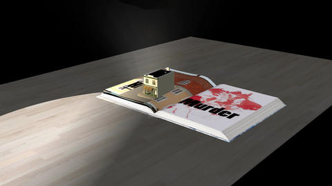 Pop Up Book, Reading Promotion (with Audio effects Animation