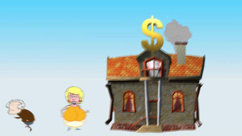 American Dream Turns into Nightmare (Housing Costs Animation