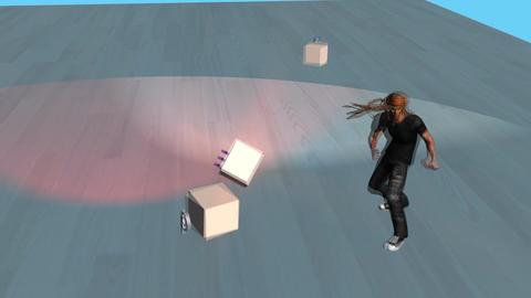 """Impact"" Karate Kick Animation"