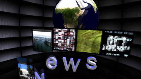 """News Live"" News Promo Animation"