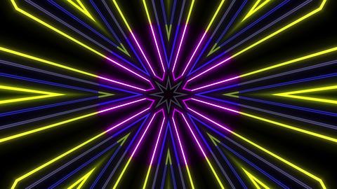 Neon tube Kaleid b B 1 HD Animation