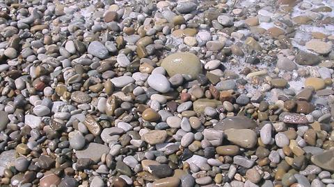 stony beach Footage