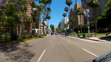 POV Ocean Blvd. Downtown Long Beach, CA stock footage