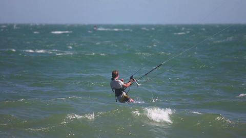 Kite surfer Footage