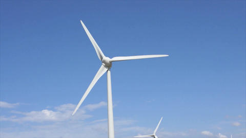 German Windpower stock footage