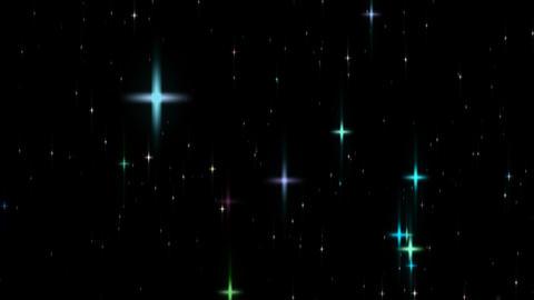 loopable shining star glitter alpha HD Stock Video Footage