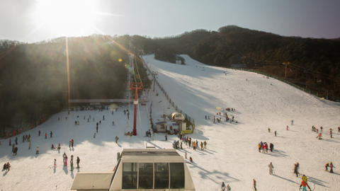 Seoul Ski Resorts 1 Footage