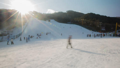Seoul Ski Resorts 3 Footage