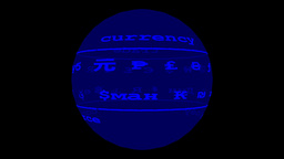 Currency Globe Animation