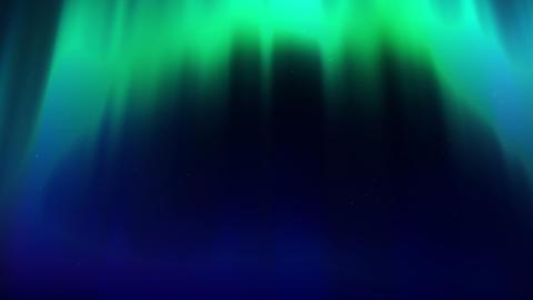 loopable aurora WEB CG動画