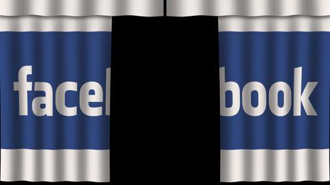 Paper Curtain - Facebook Opener Animation