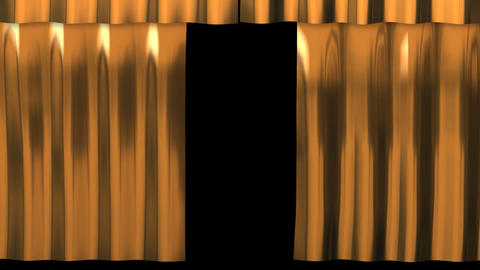 Metal Curtain - Gold Animation