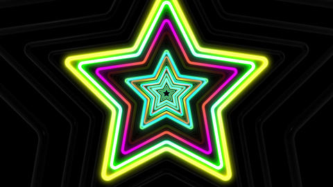 Neon tube T Fs B L 1 HD CG動画