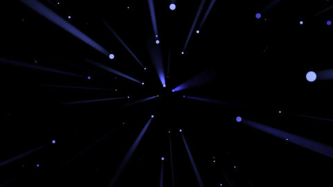 Blue Light Drops And Rays - 04 stock footage