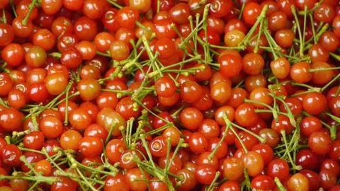 Fresh cherries Animation