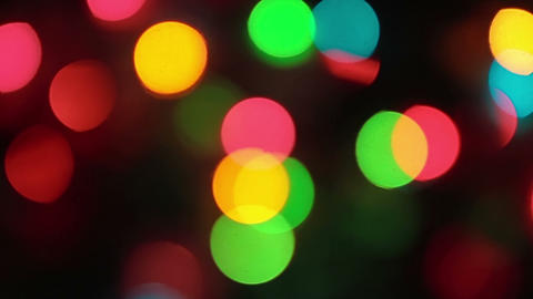 Christmass Lights stock footage