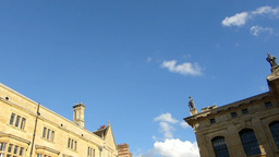 Clarendon, Located In Oxford, Oxfordshire, England stock footage