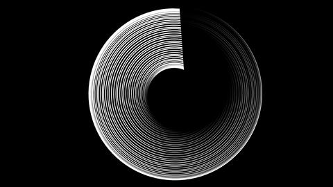 line circle disc top Animation
