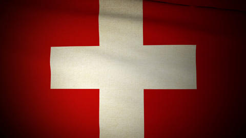 Flag Switzerland 04 Animation