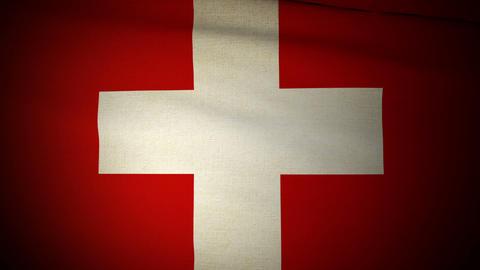 Flag Switzerland 04 Animation