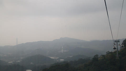 view of Taipei101 from Mao Kong Animation