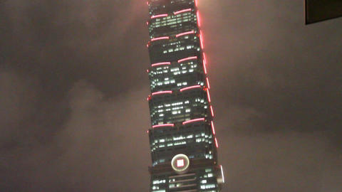taipei 101 pan from the base Animation